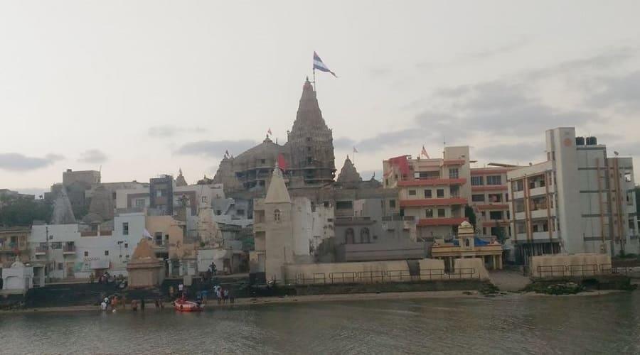 Dwarkadhish Temple at Dwarka