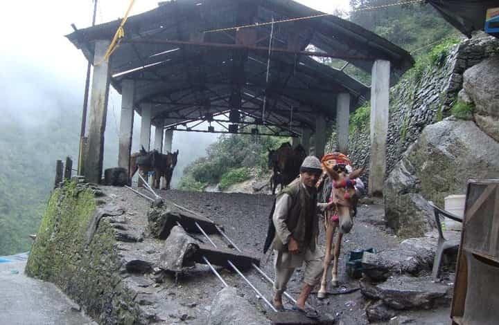 Janki Chatti to Yamunotri trek-3