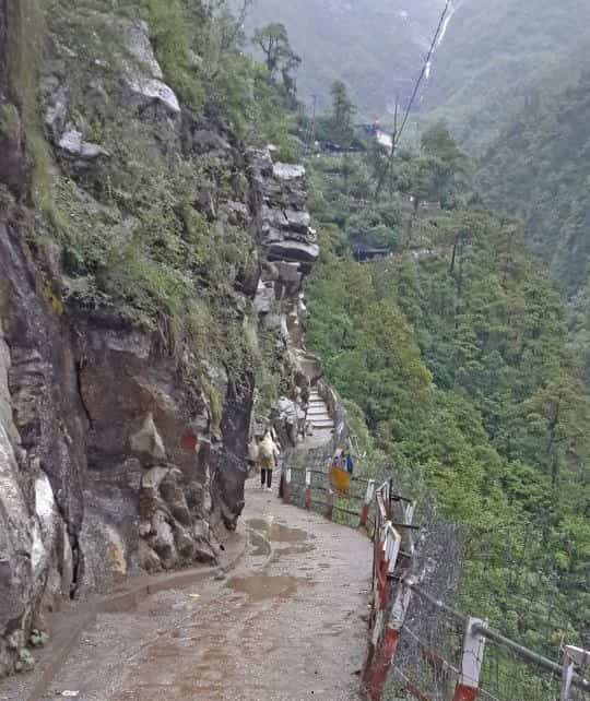 Janki Chatti to Yamunotri trek-5