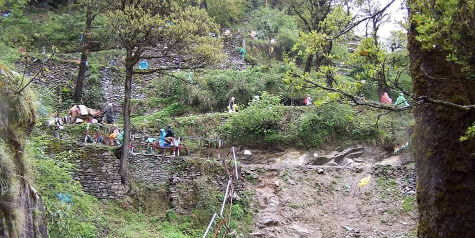 Janki Chatti to Yamunotri trek-6