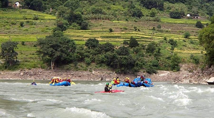 Kali River Rafting