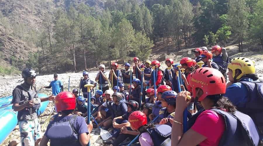 Mori River Rafting