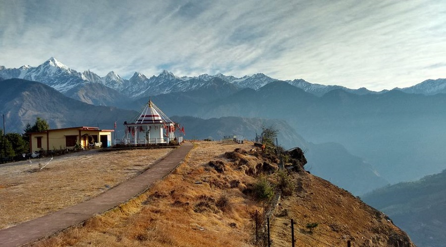 Nandadevi Temple at Munsiyari