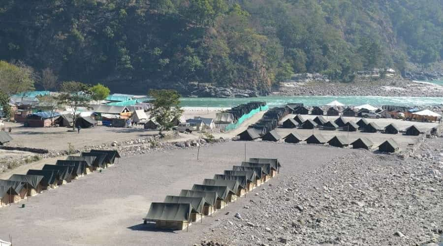 River Rafting Camp Near Devprayag