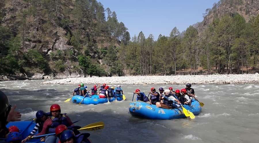 Tons River Rafting