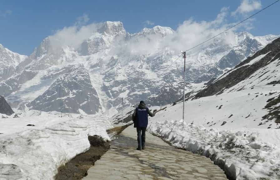 kedarnath New Trek Route