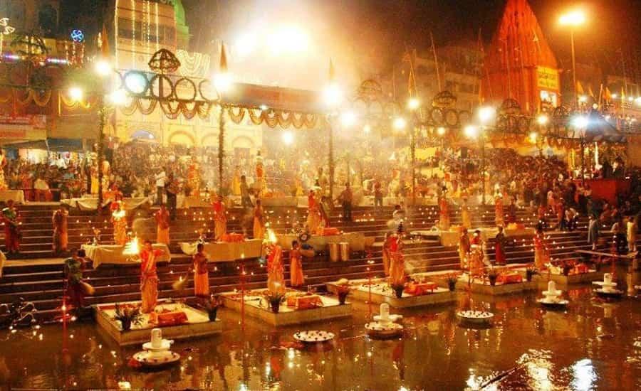 Ganga Aarti at Ganga Ghat Varanasi