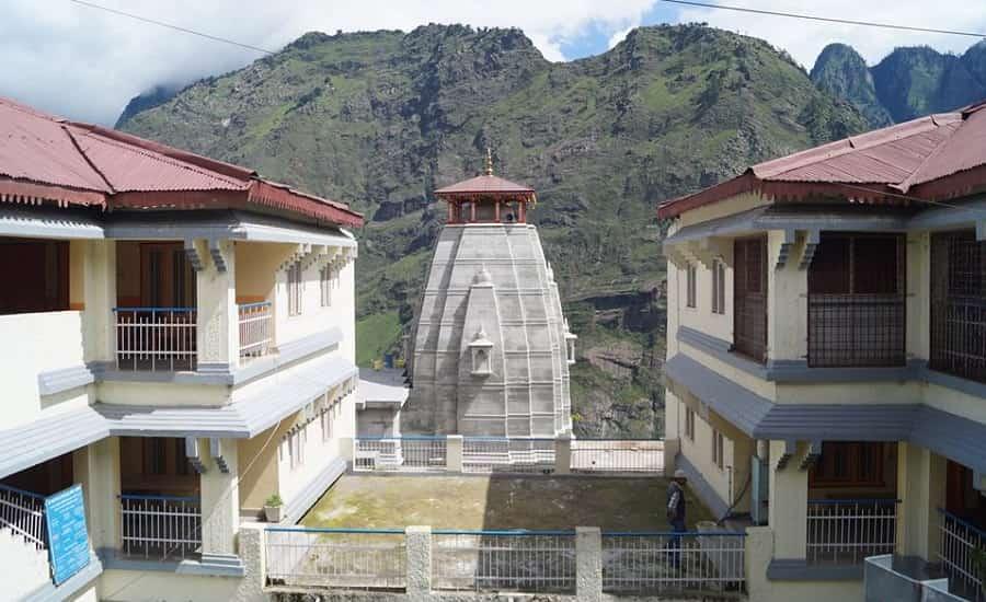 Narsing Mandir complex at Joshimath