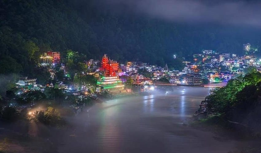 Rishikesh at Night