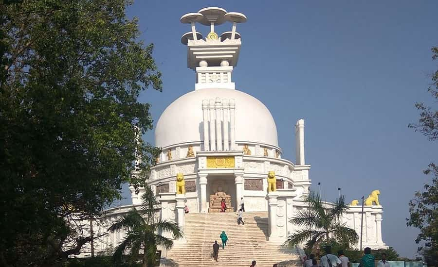 Shanti Stupa of Dhauligiri