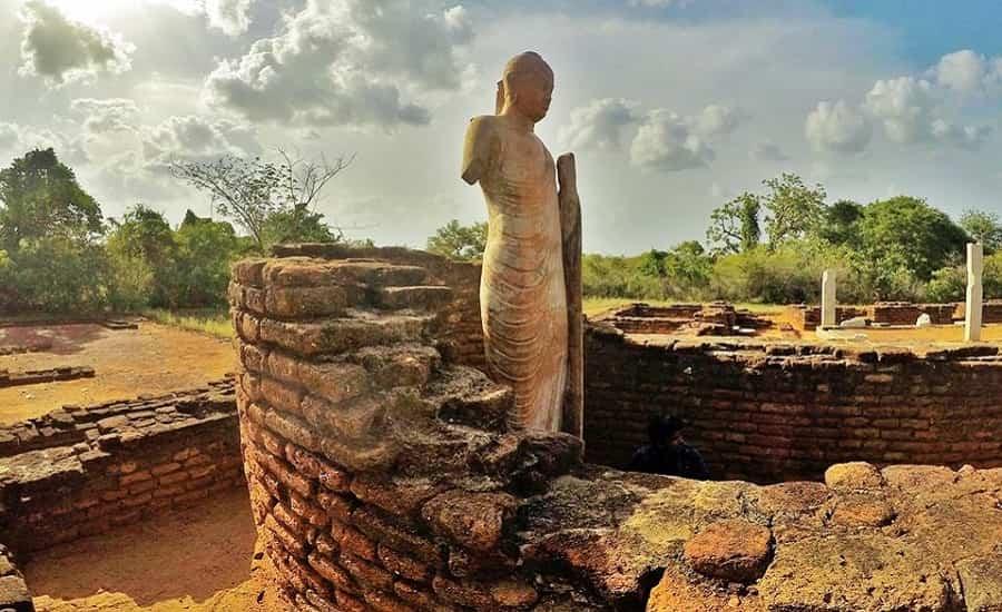 Mahayana Buddha, Nagarjunakonda Island