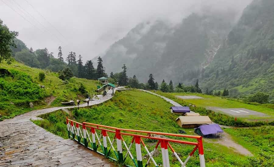 Ghangaria base camp for valley of flowers