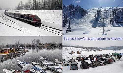 Top 10 snowfall destinations in Kashmir